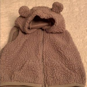 Baby vest with ears